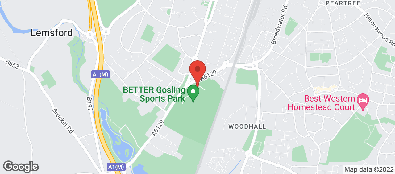 Gosling Sports Park location and directions