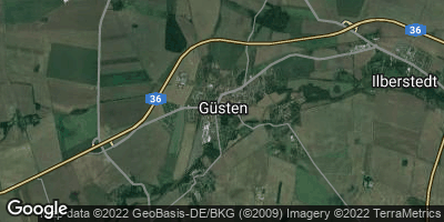Google Map of Güsten