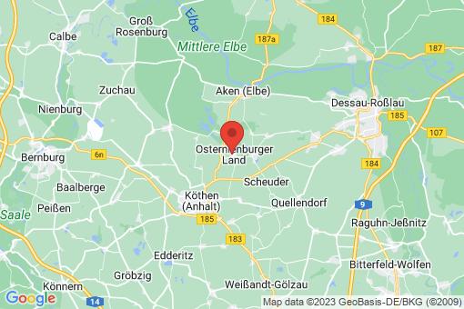 Karte Osternienburg