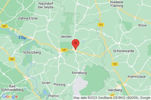 Karte Jessen (Elster) Schweinitz