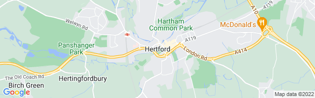 Map Of Hertford