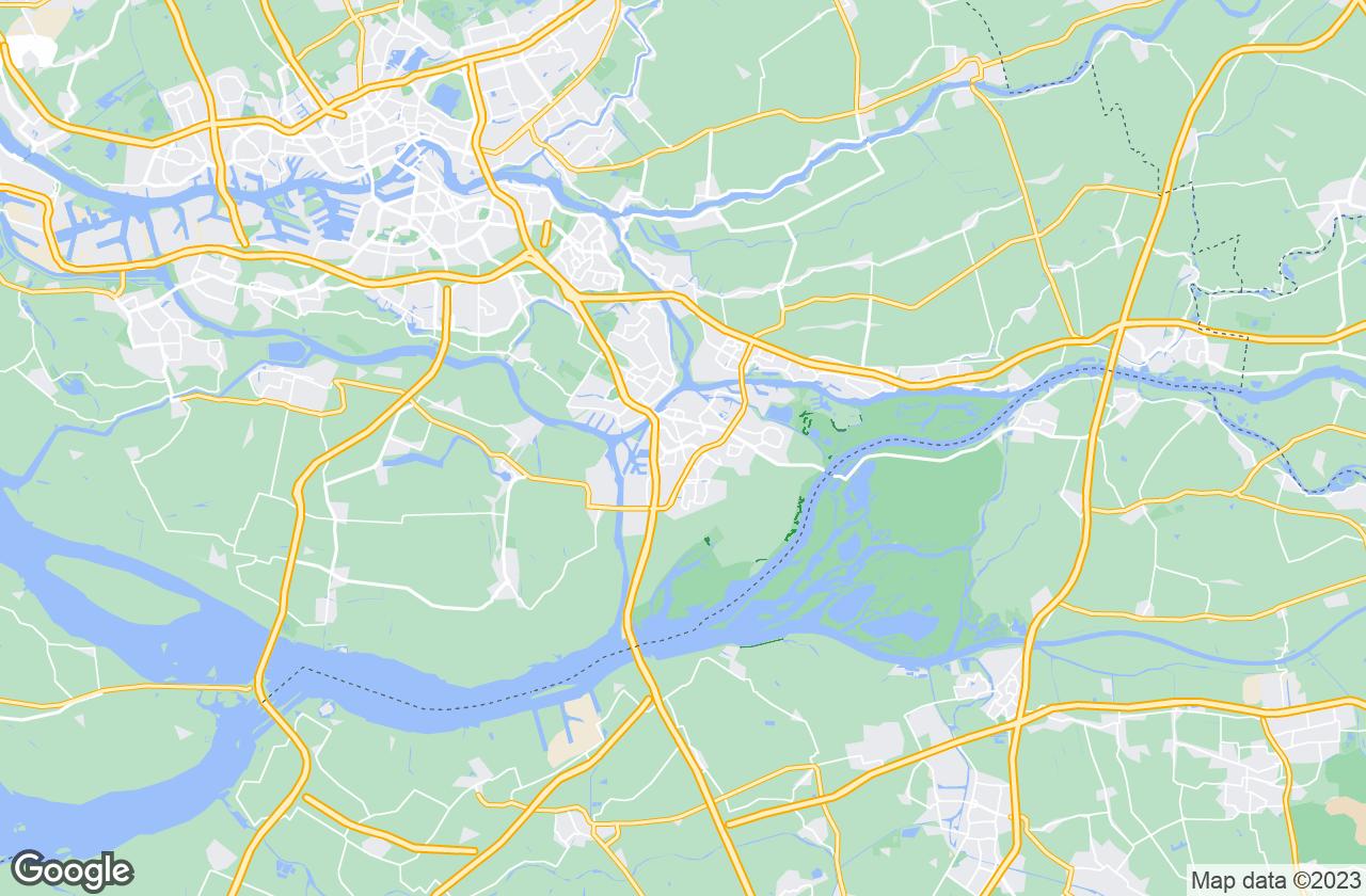 Google Map of دوردريخت