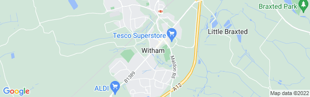 Map Of Witham