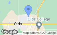 Map of Olds, AB