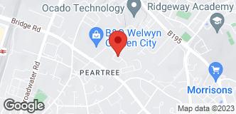 B&Q Mini Warehouse Welwyn  location