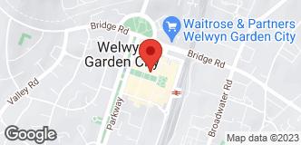Halfords Welwyn Garden City location