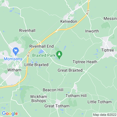 Braxted Park Location
