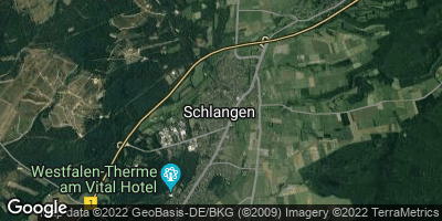 Google Map of Schlangen