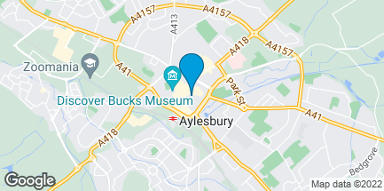 Map of 20 Hale Leys in Aylesbury