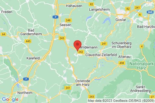 Karte Bad Grund (Harz)