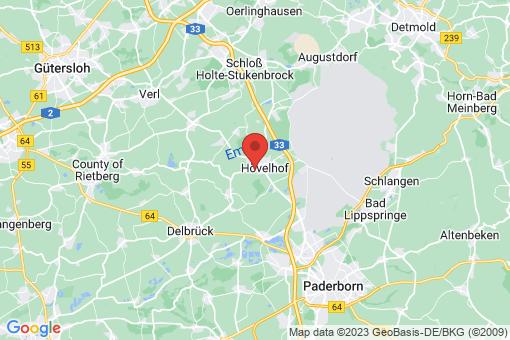 Karte Hövelhof