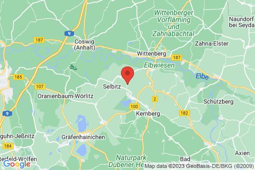 Karte Kemberg Klitzschena
