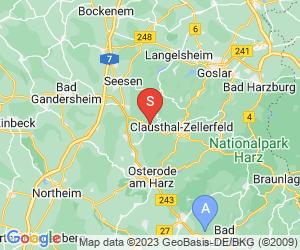 Karte für Iberger Tropfsteinhöhle