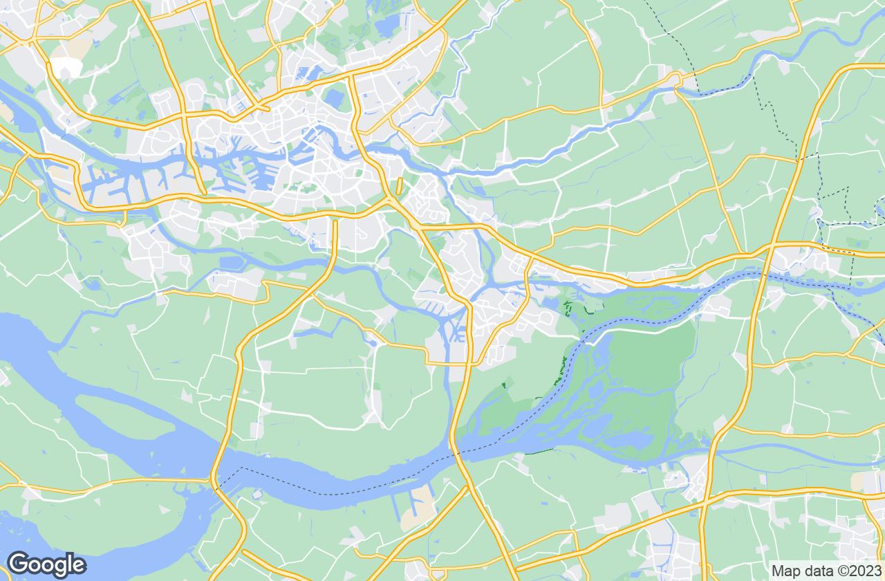 Google Map of Zwijndrecht