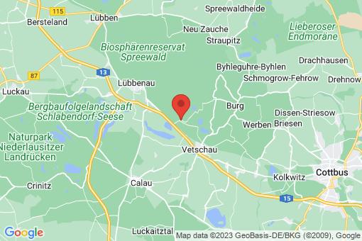 Karte Raddusch