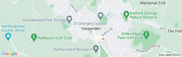 Map Of Harpenden