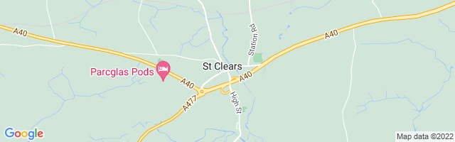Map Of St. Clears
