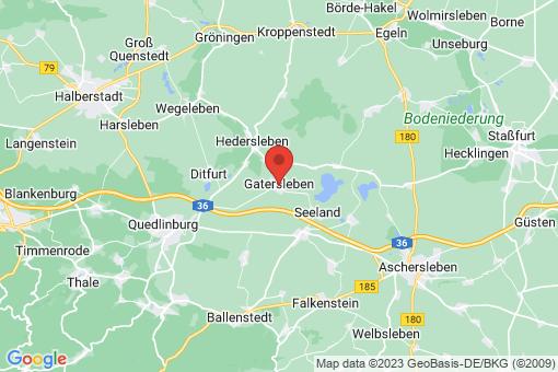 Karte Gatersleben