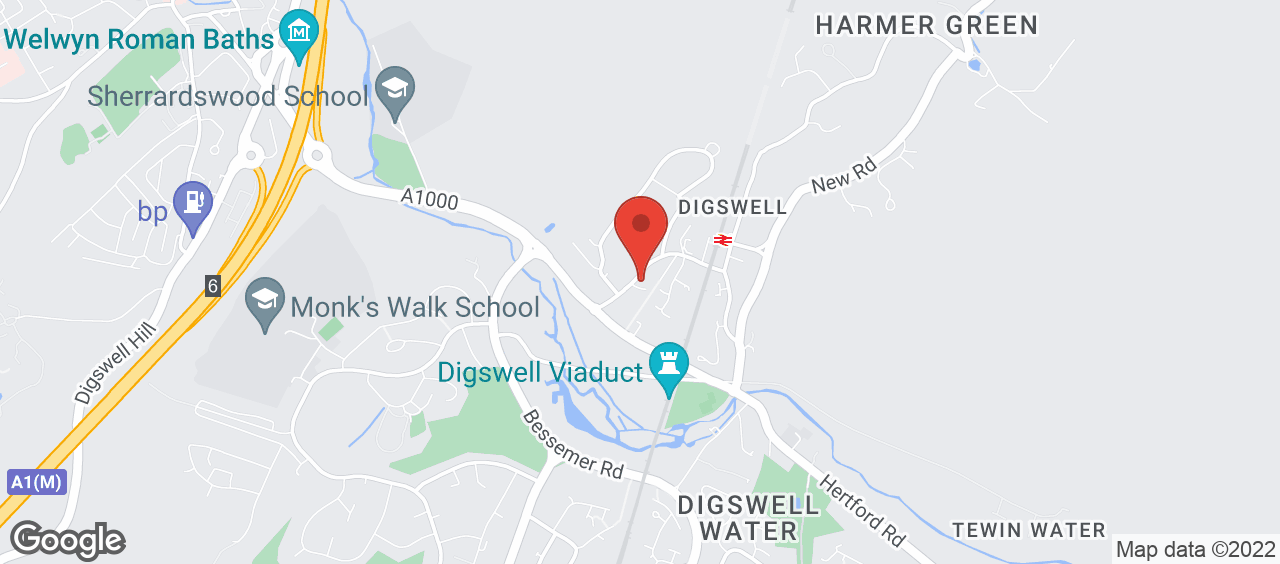 Digswell Playing Fields location and directions