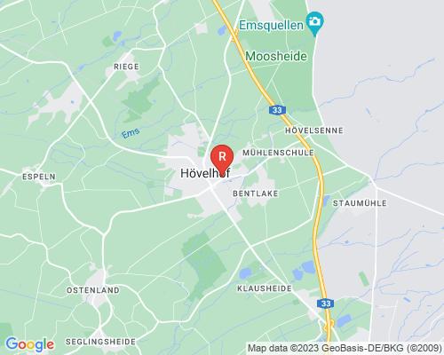 Google Karte von Rohrreinigung Hövelhof