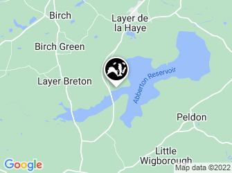 A static map of Abberton Reservoir Visitor Centre