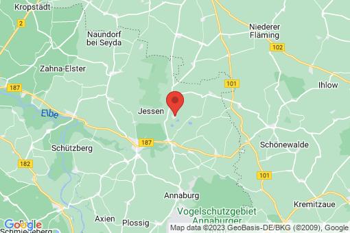 Karte Jessen (Elster) Lindwerder