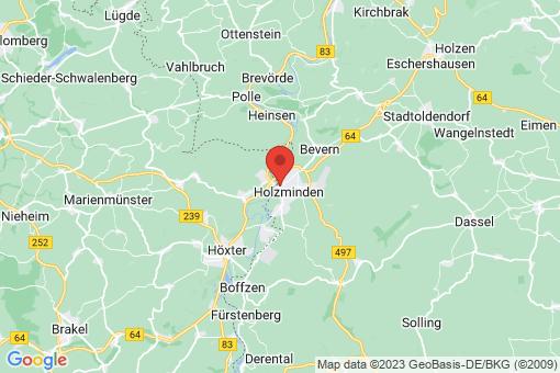 Karte Holzminden
