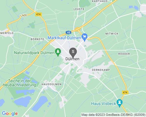 Google Karte von Schlüsseldienst Dülmen