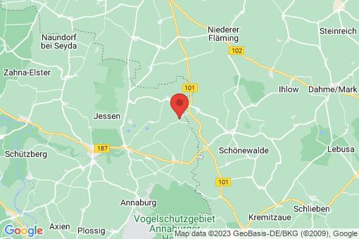 Karte Jessen (Elster) Neuerstadt
