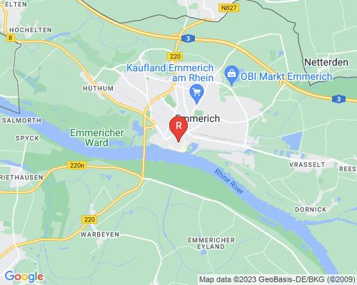 Google Karte von Rohrreinigung Emmerich