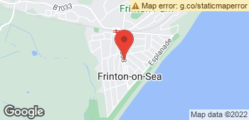 Map of Fleurette at 90 Connaught Avenue, Frinton-On-Sea, Essex CO13 9PT