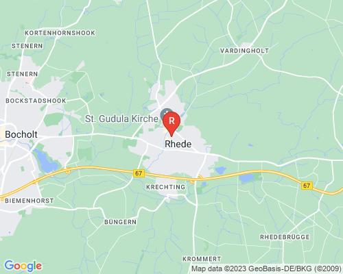Google Karte von Rohrreinigung Rhede