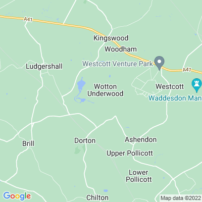 Wotton Underwood Location