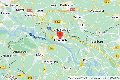 Karte Emmerich
