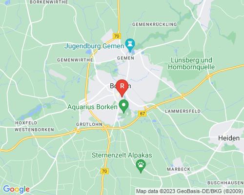 Google Karte von Rohrreinigung Borken