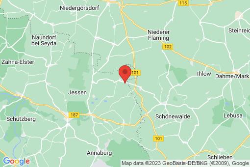 Karte Linda (Elster)
