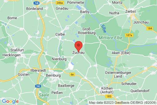 Karte Zuchau