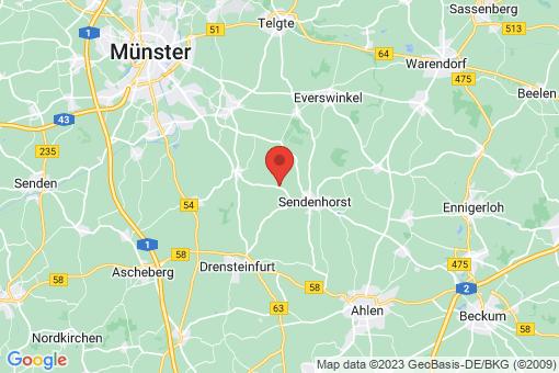 Karte Sendenhorst