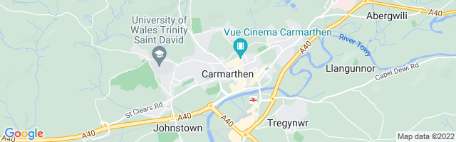 Map Of Carmarthen