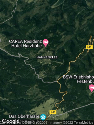 Google Map of Hahnenklee-Bockswiese