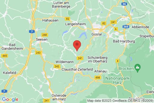Karte Goslar Hahnenklee-Bockswiese