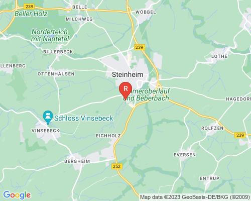 Google Karte von Rohrreinigung Steinheim