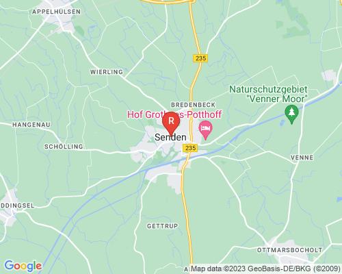 Google Karte von Rohrreinigung Senden