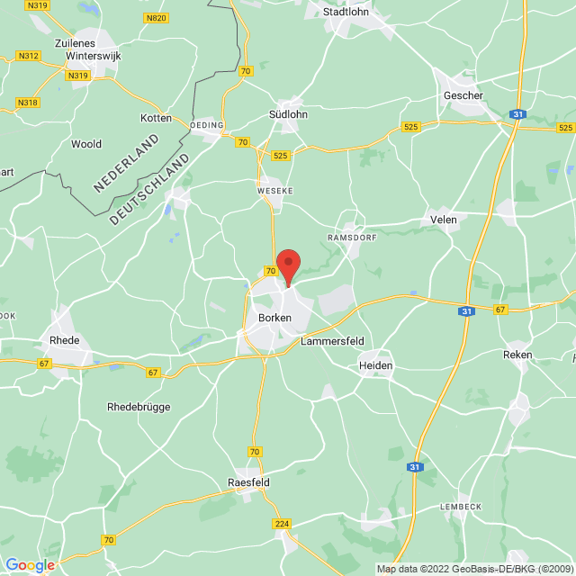 Sportverein Westfalia Gemen e.V. map
