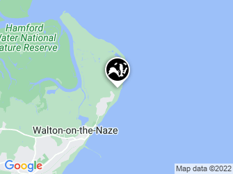 A static map of Naze Nature Discovery Centre