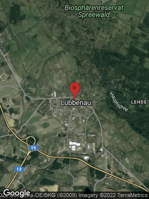 Google Map of Lübbenau / Spreewald