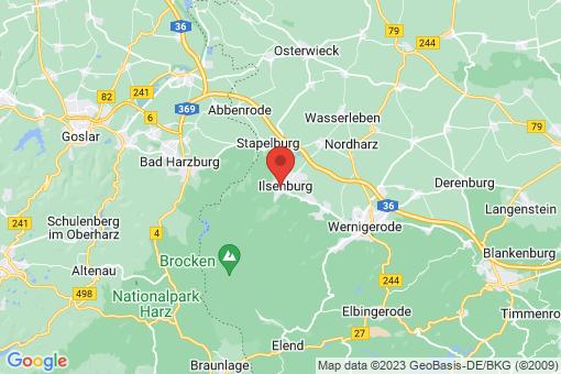 Karte Ilsenburg