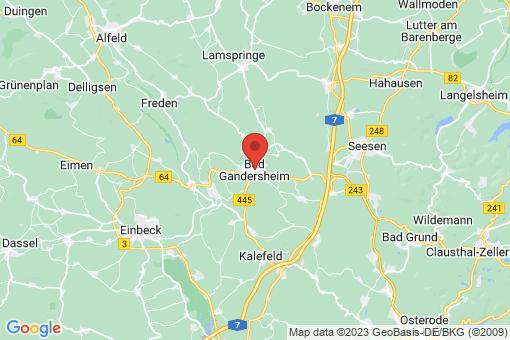 Karte Bad Gandersheim