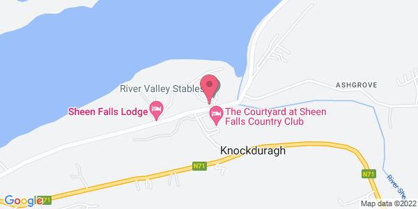 Get directions to Sheen Falls Lodge