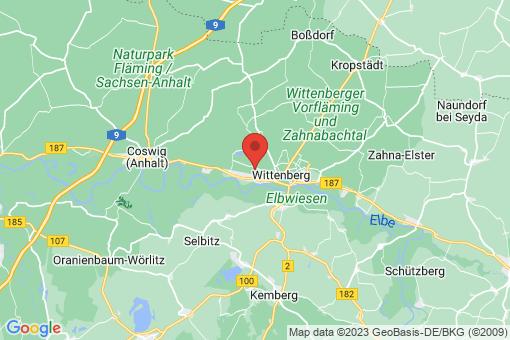 Karte Lutherstadt Wittenberg